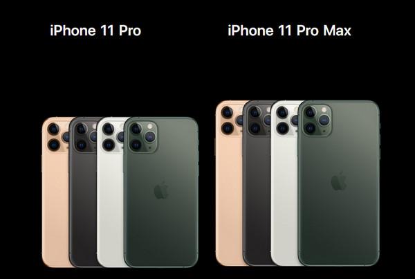 iphone11pro max和11p