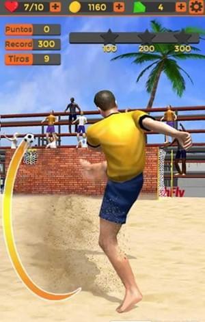 沙滩足球游戏下载