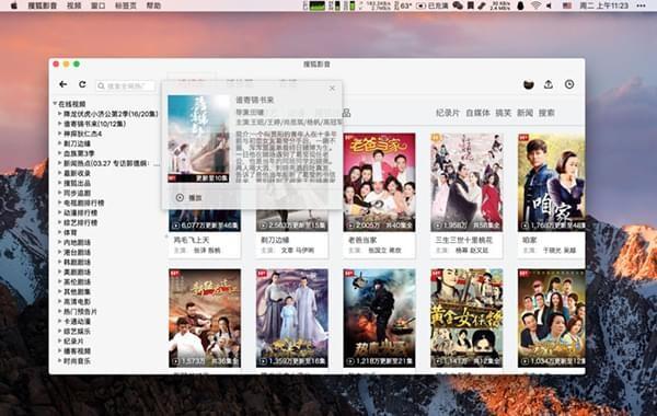 搜狐影音mac版