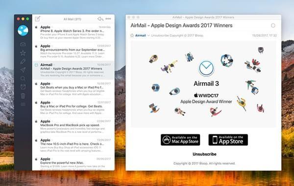 Airmail Mac版