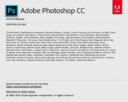 Adobe Photoshop CC 2018 Mac版