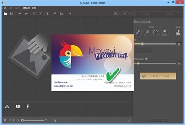 Movavi Photo Editor(相片编辑软件)