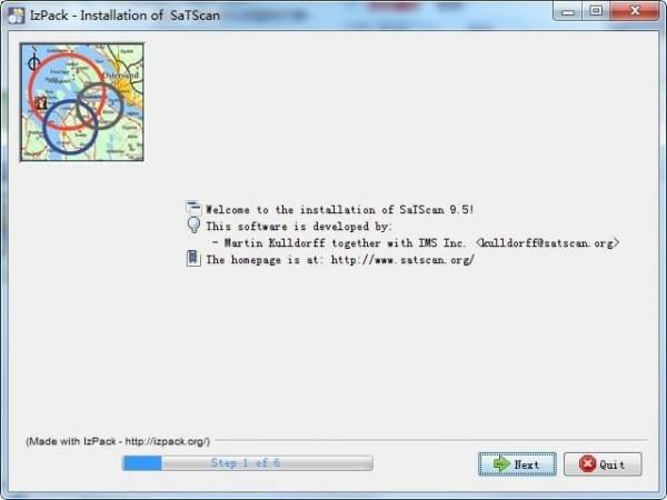 SaTScan(空间数据处理软件)