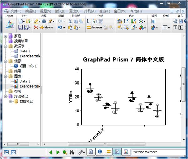Graphpad Prism(棱镜科研绘图工具)