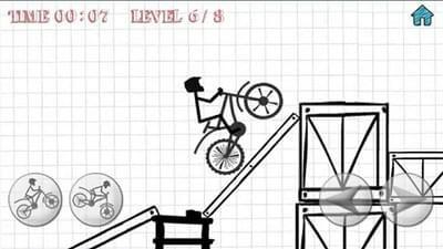 火柴人特技自行车