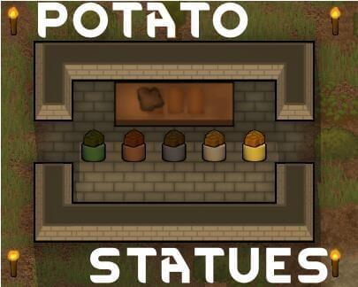 环世界b18土豆雕像MOD