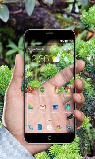手机透明桌面