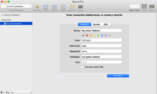 sequel pro for mac