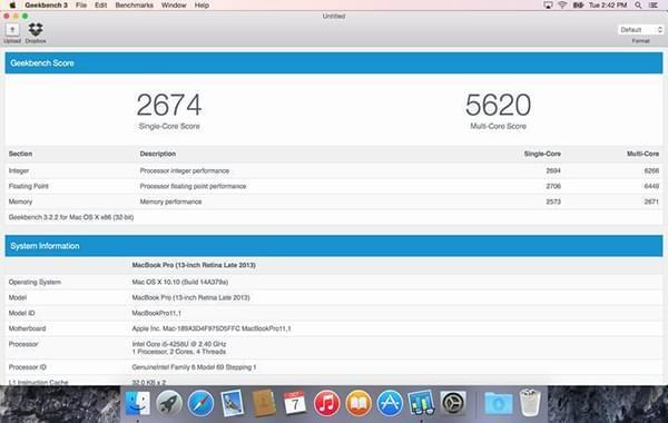 Geekbench 3 Mac版