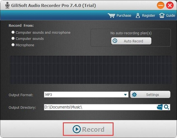 GiliSoft Audio Recorder Pro(音频录制软件)