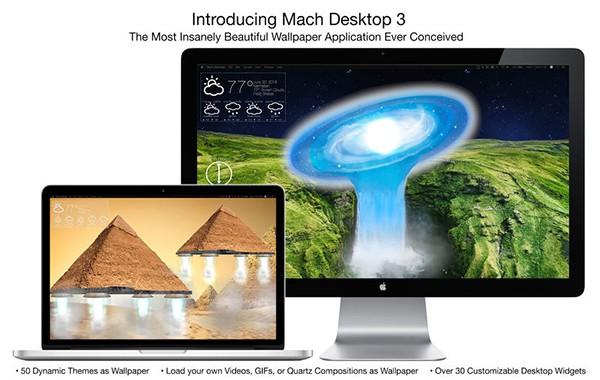 mac高清桌面壁纸软件