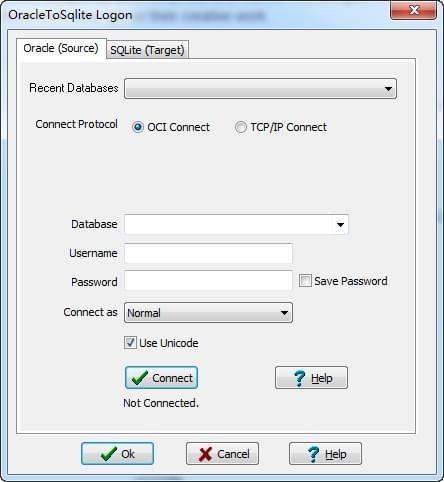 OracleToSqlite(Oracle导入到Sqlite工具)