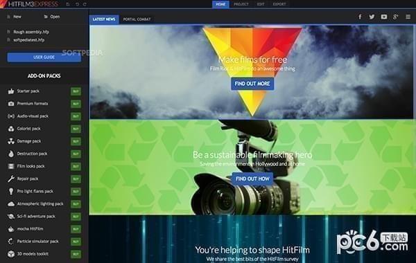 HitFilm Express Mac版