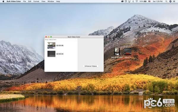 批量视频色彩平衡Mac版