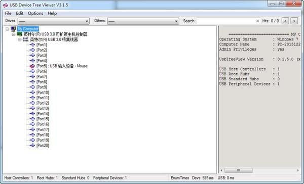 USB查看器(USB Device Tree Viewer)