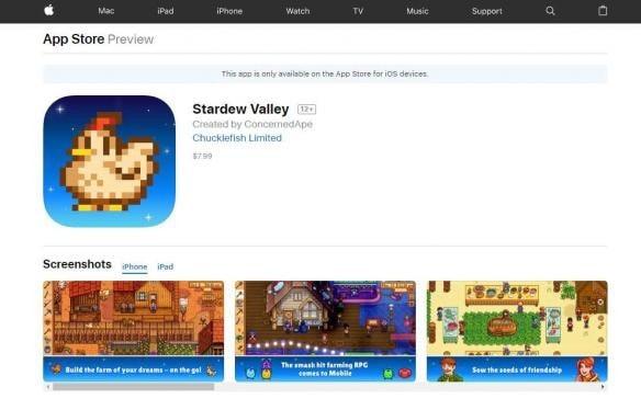 《星露谷物语》iOS版上线国区无缘 安卓版开发中[多图]图片1