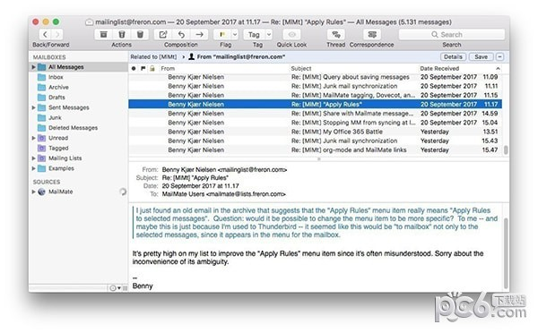 MailMate for MAC
