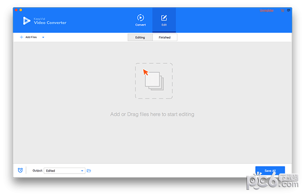 KeepVid Video Converter for Mac