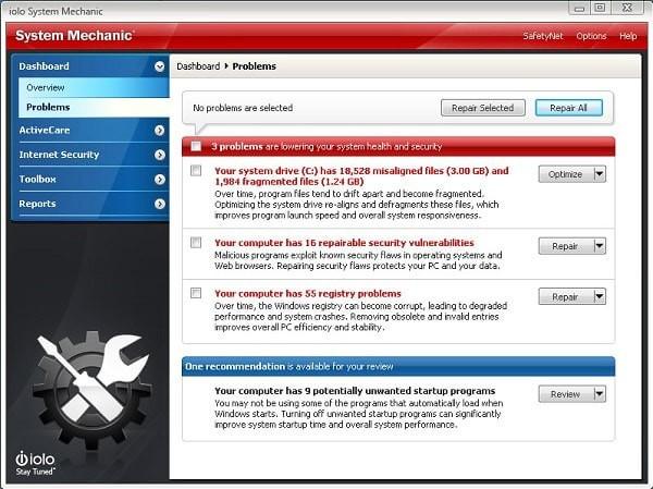 System Mechanic Pro(系统机械师)