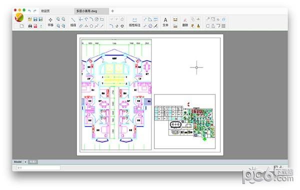 CAD迷你出来Mac版cad文件打印画图不图片