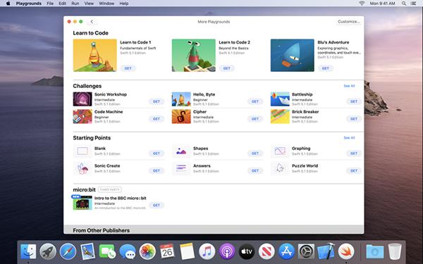 Swift Playgrounds Mac版
