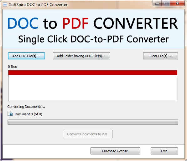 SoftSpire DOC to PDF Converter(DOC转PDF工具)