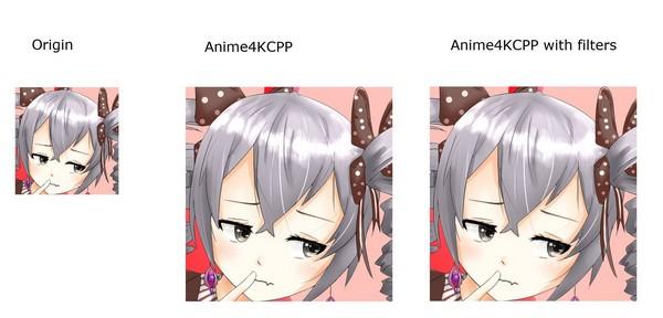 高质量动画放大算法