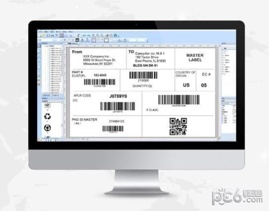 易打标条码标签打印软件