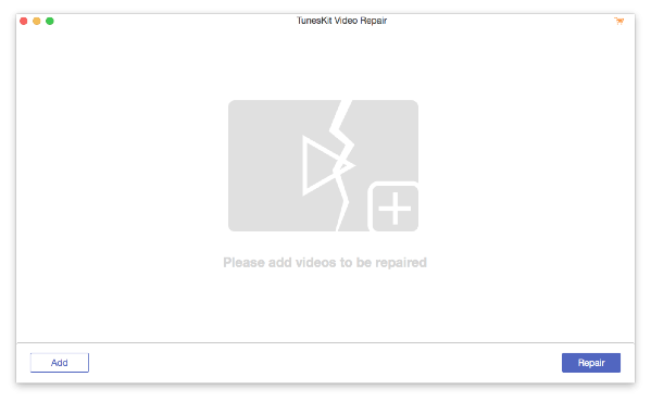 TunesKit Video Repair Mac版