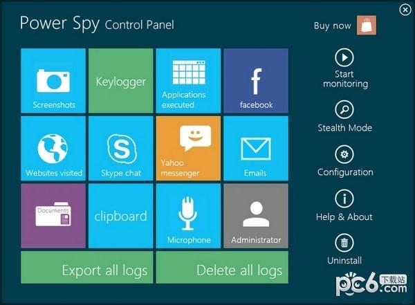 Power Spy(电脑监控软件)