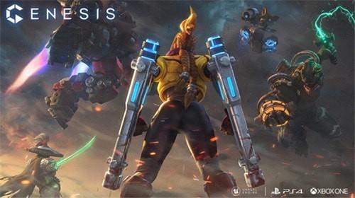 科幻大战即将来临,主机MOBA《创世争霸》预约开启!