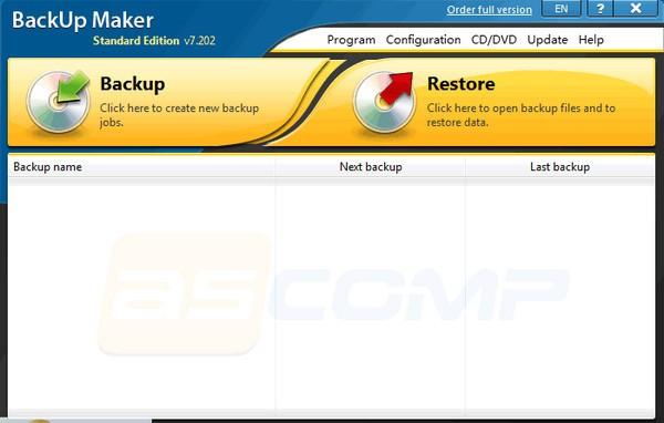 BackUp Maker Standard Edition(数据备份工具)