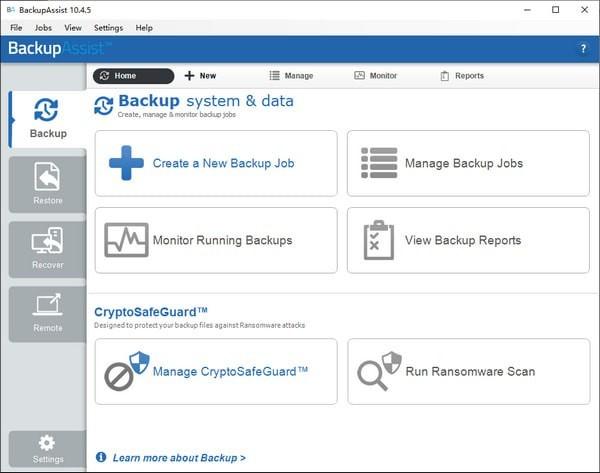 BackupAssist下载 v10.5.6免费版 免费数据恢复软件
