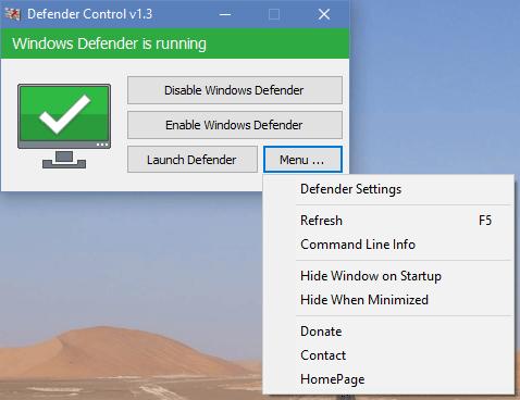 Defender Control(Defender关闭工具)