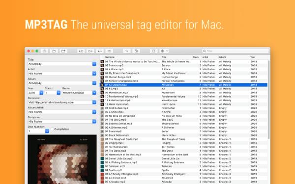 Mp3tag for Mac-Mp3tag Mac版下载 V1.0.0