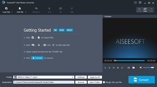 Aiseesoft Total Media Converter(媒体转换工具)