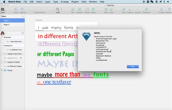 Font Packer for Mac