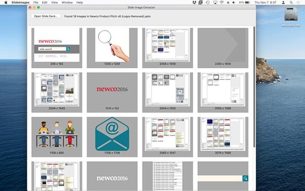 Slide Images Mac版