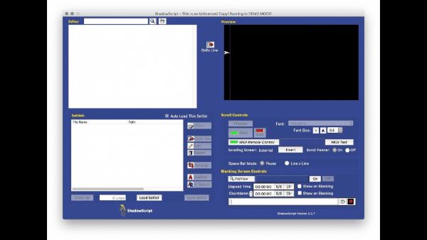ShadowScript Mac版