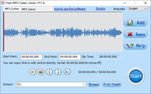 Free MP3 Cutter Joiner(音�l�理工具)