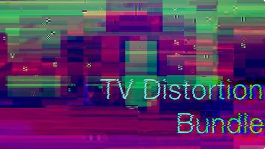 TV Distortion Bundle(Ae/Pr信�失真插件)