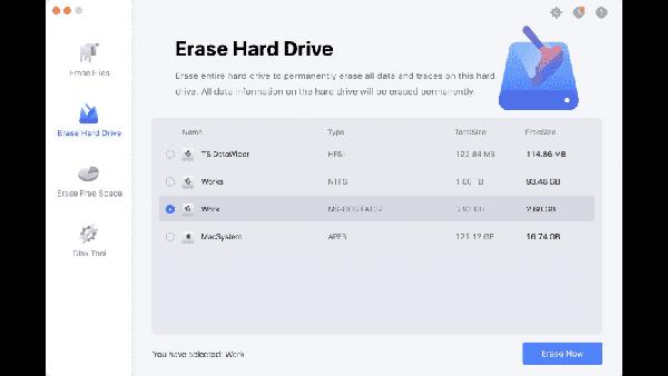 TS DataWiper Mac版