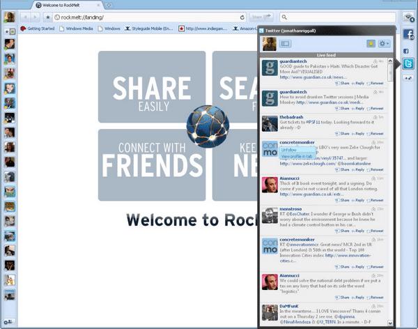 RockMelt浏览器