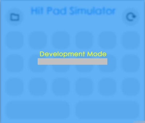 Hit Pad Simulator