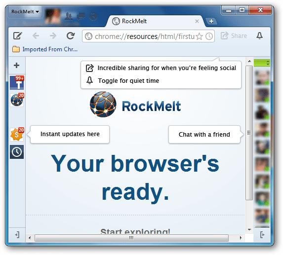 RockMelt浏览器官方下载
