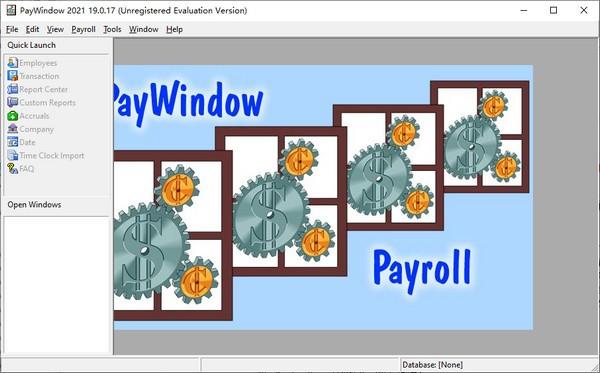 PayWindow 2021(薪资管理系统)
