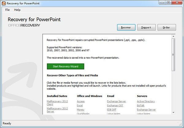 Recovery for PowerPoint(PPT文件恢复工具)
