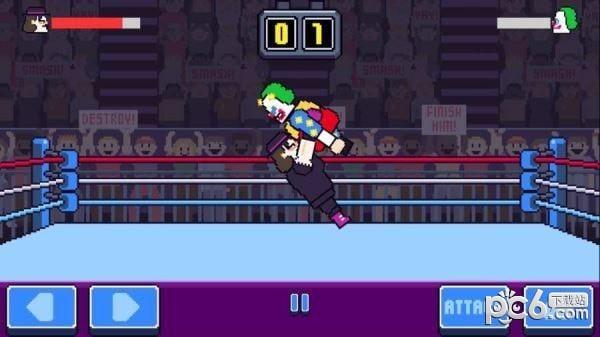 狂野摔跤电脑版