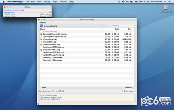 WebsiteManager Mac version