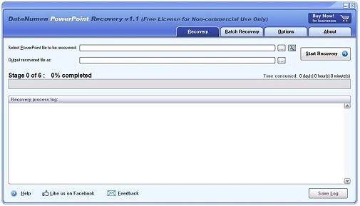 DataNumen PowerPoint Recover(ppt文件恢复工具)